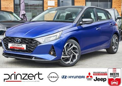 Hyundai i20 1.0 T-GDI Intro Plus schwarz