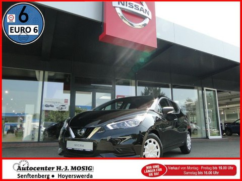 Nissan Micra 100PS Visia Plus