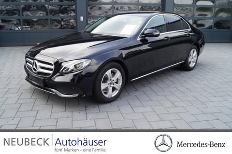 Mercedes E 220 d Limousine AVANTGARDE