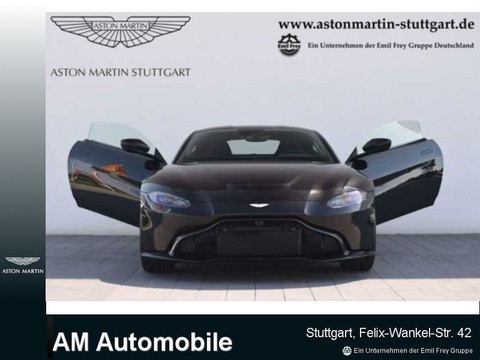 Aston Martin V8 Vantage New Model 4-Rohr
