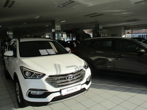 Hyundai Santa Fe 2.2 CRDi Premium blue -