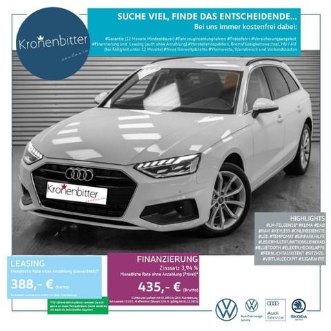 Audi A4 2.0 TFSI Avant basis 35 150PS L