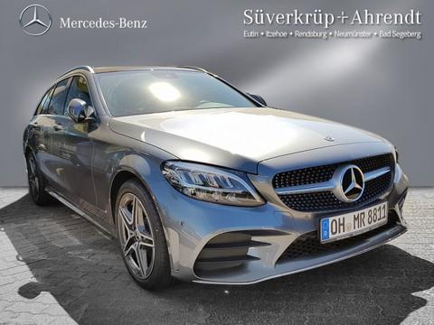 Mercedes C 200 T AMG-Line Spur-P