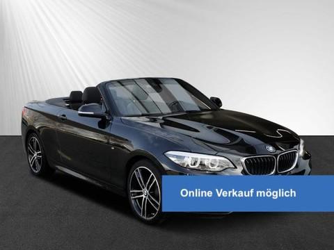 BMW 218 i Cabrio M Sport