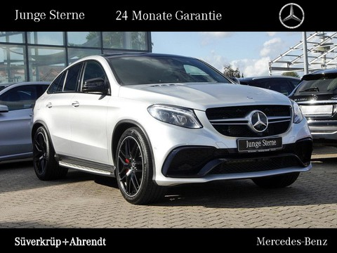 Mercedes-Benz GLE 63 AMG S Coupé Night Driver Abgas Curve