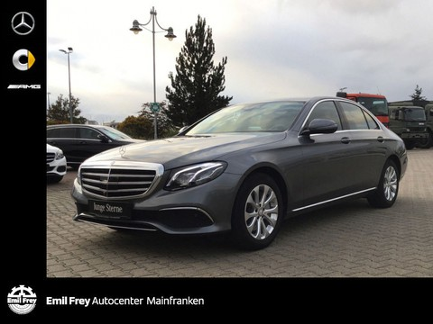 Mercedes-Benz E 300 Exclusive Mbeam schicke Farbkombi