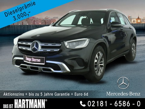 Mercedes-Benz GLC 220 d ABSTANDSTEMP SCH GR
