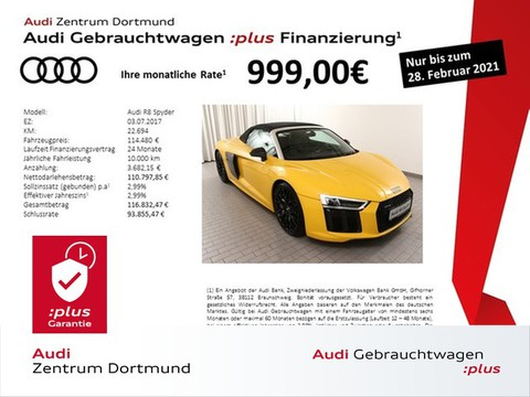 Audi R8 5.2 Spyder qu Laser Carbon sportaga