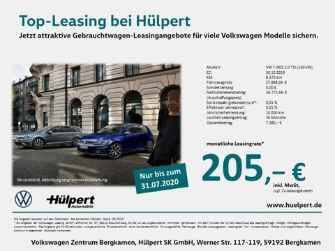 Volkswagen T-Roc 2.0 TSI SPORT BUSINESS