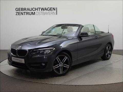 BMW 218 i Cabr SportLine Leasing �399 - mtl 0Anz