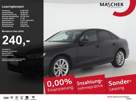 Audi A4 Limousine Advanced 50 TDI BlackEd