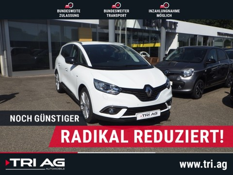Renault Grand Scenic Limited Deluxe Blue EU6d-T