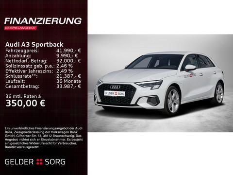 Audi A3 Sportback 40 TFSI e S line
