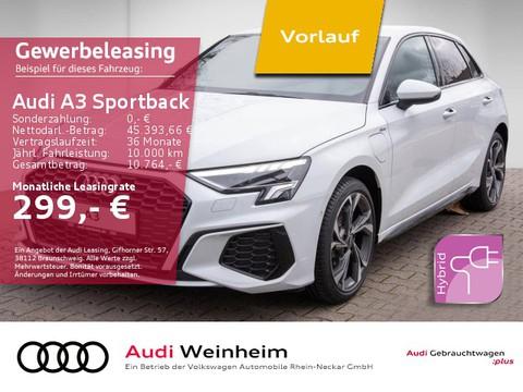 Audi A3 Sportback 40 TFSI e hybrid S-line 2026
