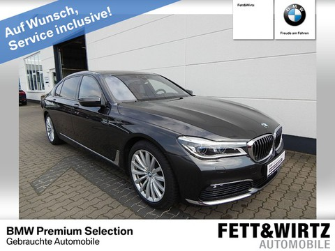 BMW 750 Ld xDrive Laserlicht B&W