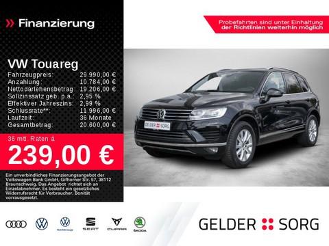 Volkswagen Touareg 3.0 V6 TDI R-Line-Interieur