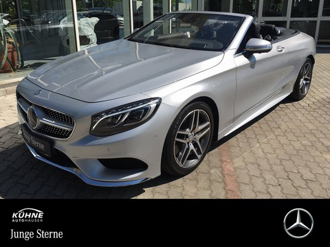 Mercedes S 500 Cabrio AMG BURM DIST ° KeyGO NACHT HEAD