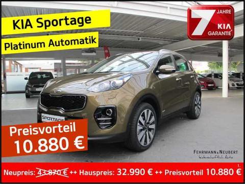 Kia Sportage 2.0 D Platinum AWD abnehmbar