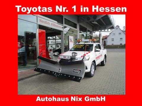 Toyota Hilux 2.4 D-4D DC Duty Comfort WINTERDIENST
