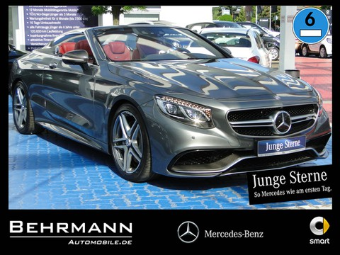 Mercedes-Benz S63 Cabrio ° Driver s Package Carbon