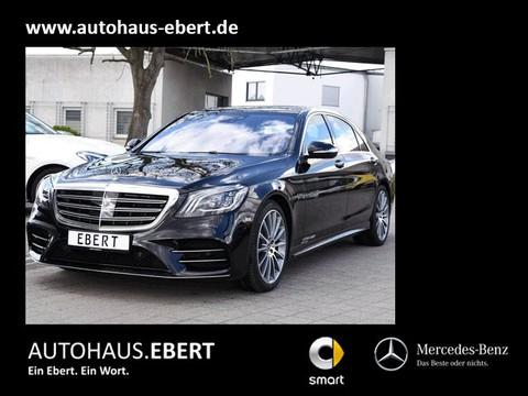 Mercedes S 400 d lang AMG-Line Remote-Parkpaket PSD TV