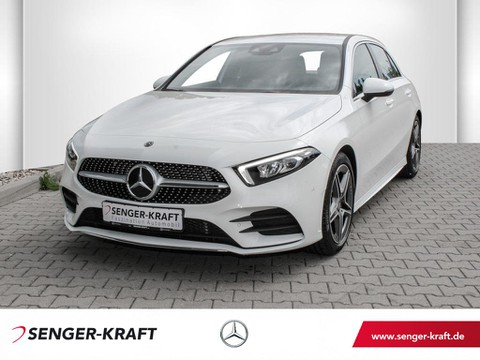 Mercedes A 200 AMG-Line Augmented-Reality MBUX