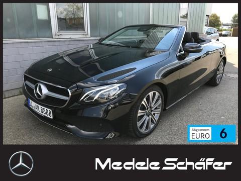 Mercedes E 200 Cabrio Avantgarde Com Totwink Widescr