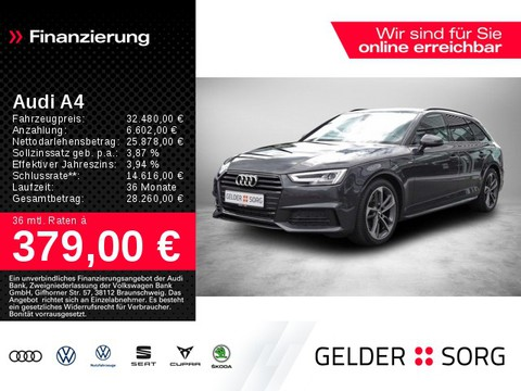 Audi A4 2.0 TFSI Avant sport S line Ext