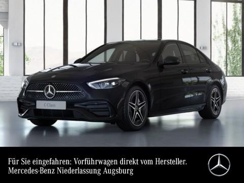 Mercedes-Benz C 200 AMG Night Spurhalt