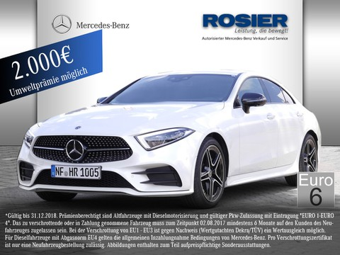 Mercedes CLS 400 d AMG Line Night Widescr Multib A