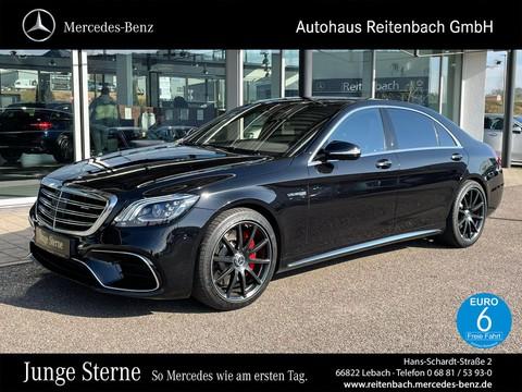 Mercedes-Benz S63 AMG LANG MASSAGE TV ° BURM