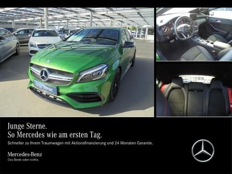 Mercedes A 45 AMG Night Perform Auspuff