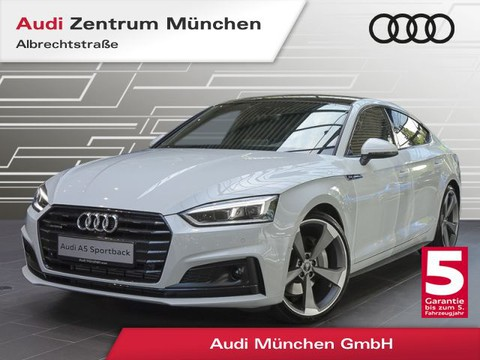 Audi A5 2.0 TFSI qu Sportback S line 20Zoll Assistenz