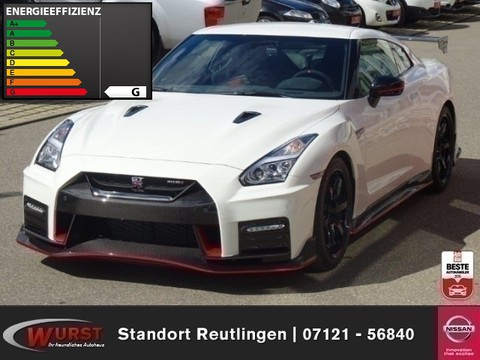 Nissan GT-R Nismo on stock