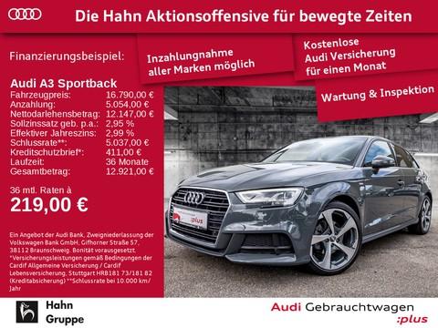 Audi A3 1.0 TFSI Sportback S-line Vorb