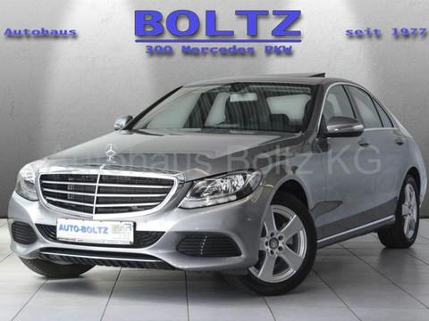 Mercedes-Benz C 180 Exclusive Durchl Holz