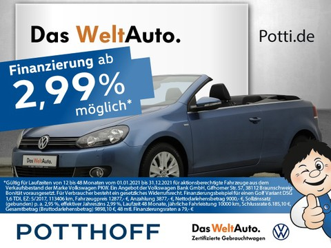 Volkswagen Golf 1.2 TSI VI Cabriolet LIFE Komfort