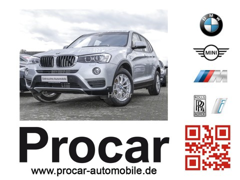 BMW X3 xDrive20d Prof