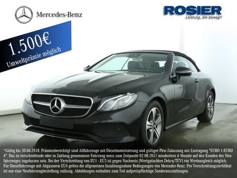 Mercedes E 200 Cabrio Avantgarde Com Wides cap