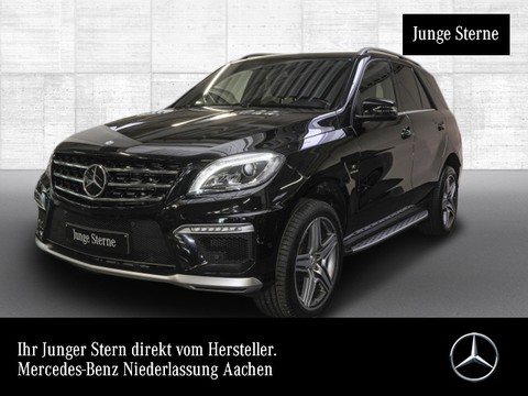 Mercedes ML 63 AMG Active Curve Airmat Harman