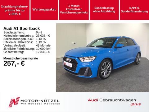 Audi A1 Sportback 30 TFSI 2xS-LINE 18Z