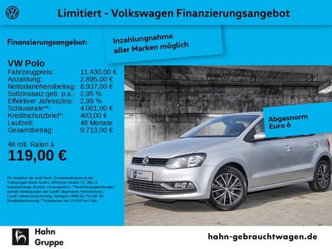 Volkswagen Polo 1.2 TSI Allstar elektr Fensterh