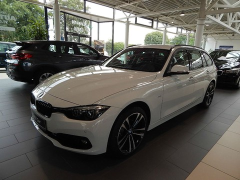 BMW 316 d Sport Line 18 Arlamanlage