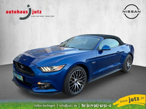 Ford Mustang 5.0 Ti-VCT GT Convertible V8