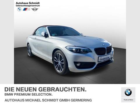 BMW 218 d Sport Line Lichtpaket