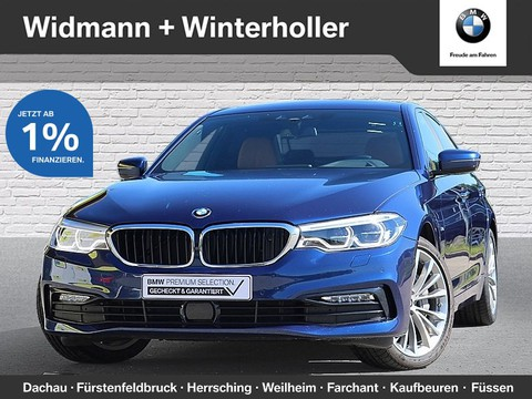 BMW 540 i xDrive Limousine Sport Line Night Vision TV