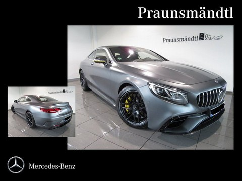 Mercedes S 63 AMG Coupé Yellow Night Edition