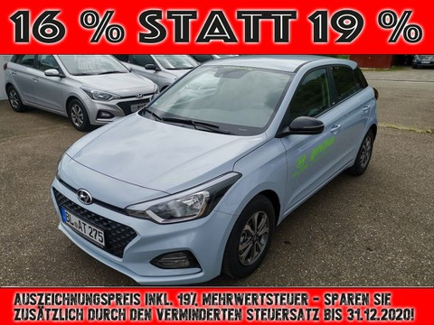 Hyundai i20 1.2 blue YES (GB)