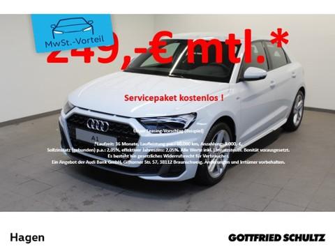 Audi A1 SPORTBACK S LINE 25 TFSI zugelassen
