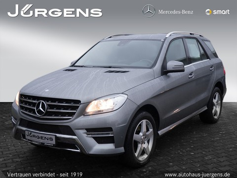Mercedes ML 250 AMG-Sport Park-As
